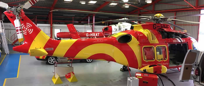 Helicopter valeting and helicopter cleaning services Hertfordshire