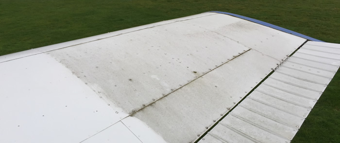 Aircraft cleaning & detailing at Beccles Airfield, EGSM, Suffolk